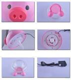 Mini bel épurateur mignon d'air de type animal avec la DEL et l'USB