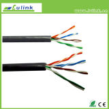 Cavo solido della rete del cavo di lan di Cat5e UTP