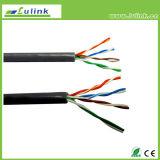 Дешевые сети меди твердые витого Cat5e, CAT6 сетевой кабель Cat7