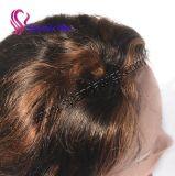 """Парики 6 курчавого шнурка человеческих волос волны #1b-30 бразильского прифронтовые """" - 26 """" париков человеческих волос с свободно перевозкой груза"""