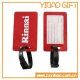Подгонянная бирка багажа PVC резиновый для мешка (YB-LY-LT-32)