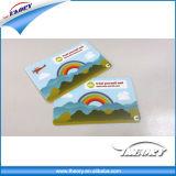Tamanho em branco do cartão de crédito do visto do PVC do cartão sem contato do smart card RFID do CI