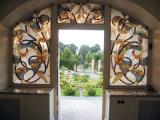 Het decoratieve Comité van het Venster van het Gebrandschilderd glas van Tiffany