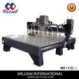 Máquina de trabalho de madeira CNC Router CNC gravura da porta de madeira VCT-2530W-8h