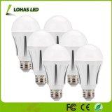 Lampadina economizzatrice d'energia equivalente bianca di luce del giorno 75W (12W) LED di A19 E26 per illuminazione domestica