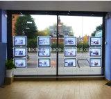 Geleuchtete LED-Bildschirmanzeige-Licht-Taschen für Immobilienmakler