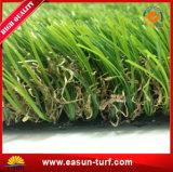 Hierba artificial de la hierba del césped de la hierba del balompié estupendo artificial plástico sintetizado al aire libre de la calidad