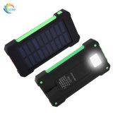 LED 점화 USB 태양 에너지 은행 10000mAh 보편적인 Warterproof 충전기