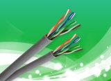 Pares 23AWG del precio 4 del cable CAT6 del LAN UTP de la D-Conexión del cable del establecimiento de una red de UTP
