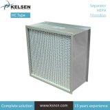 Чистой комнате индивидуальные H13 фильтр выходящего воздуха HEPA
