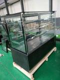 vitrine à gâteaux de base de marbre noir avec 2 étagères Cke Stand réfrigérateur d'affichage de l'Apex