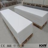 12mm acrílico branco glaciar de pedra artificial Superfície sólida em folhas