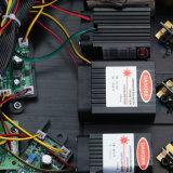 Lumière laser à grande vitesse de faisceau de contrôleur du laser DMX de configuration de lecture de moteur