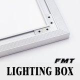 Casella chiara girante fissata al muro del segno del LED
