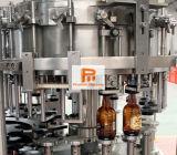 9000bph 자동적인 유리병 알콜 맥주 보드카 위스키 병 충전물 기계
