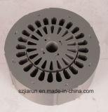 Слоение штемпелюя, металл сердечника ротора статора электрического двигателя штемпелюя части
