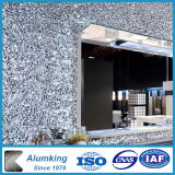 Piatti di alluminio della gomma piuma di disegno domestico della decorazione