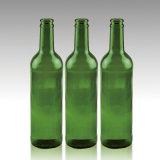 アウトレットのよい価格の再使用可能な420mlエメラルドグリーンのビール瓶