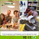 Lichte Slimme LEIDENE van Lohas 9W A19/A60 Gu24 WiFi Bol Compatibel met Alexa