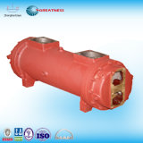 Tubo de acero inoxidable coaxial Intercambiador de calor para el motor y Electricidad