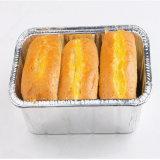 ケーキのベーキングのための使い捨て可能なアルミホイルの容器