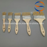 La setola assottiglia i pennelli di legno della maniglia per FRP