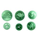 昇進のギフトの柔らかいエナメルのアルミニウムトークン硬貨