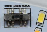 18W 실내 고성능 Tc 둥근 LED 천장 또는 굴은 또는 아래로 점화한다