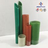 Gelber/Blauer/Roter/Grün flexibler Belüftung-gewundener Pumpen-Wasser-Absaugung-Schlauch