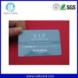 Scheda di plastica di identificazione di insieme dei membri con la stagnola di oro o dell'argento