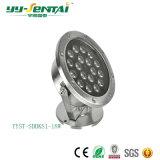 lumière sous-marine de la lampe de syndicat de prix ferme de 18W DEL/DEL