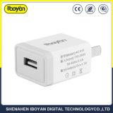 1.0A Lader van de Telefoon van de Cel van de Contactdoos van het Huishouden USB van de reis de Enige
