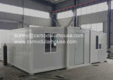Camera prefabbricata tre in una Camera del contenitore con grande spazio