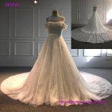 с платьев венчания 2018 мантий шарика плеча Bridal