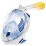 Máscara de mergulho com snorkel 180 Exibir Anti-Fog Anti-Leak respiração livre