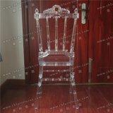 Nueva silla transparente de acrílico cristalina de lujo de Phenix Napoleon del policarbonato de la boda del diseño Yc-As75