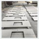 Bovenkant van de Ijdelheid van het Kwarts Silestone/Caesarstone van China de In het groot Populaire voor Badkamers