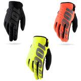 100% покатых перчаток зимы перчатки перчаток MTB задействуя толщиных