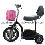 年配者のための3つの車輪の移動性の電気スクーターを折る500W