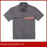 여름 (W7) 동안 도매 좋은 품질 간결 소매 작업 착용 제복