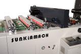 Machine thermique à grande vitesse de lamineur de film de Full Auto avec le coupeur de couteau de vol (XJFMK-120L)