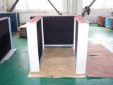 9.52mm schraubten kupfernen Wanne Elouvered Flosse HVAC-Geräten-Wärmetauscher