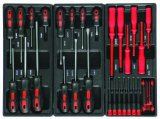 6drawers Cheapest Heavy Duty Trolley Tool Set with Blister Packing
