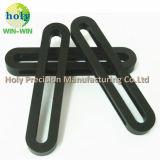 Zwarte Geanodiseerde CNC die de Delen van de Douane in het Goede Aluminium van de Rang machinaal bewerken