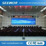 Haute résolution P3mm Affichage LED Fied intérieure de l'écran avec le module 192*192 mm