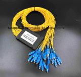 Divisore ottico del PLC di telecomunicazione 1X32 di Gpon della fibra per FTTH/Poncatv/Pon