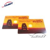 300 OE 2750 OE Magnetkarte mit Chipkarte nach innen für Bank und Schule