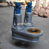 Tipo gemelo válvula de descarga de la seguridad de la presión (GAA37/GAA38/GAA43) del resorte