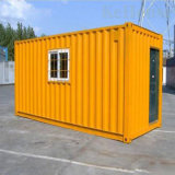 Het lichte Huis van de Container van de Structuur van het Staal 20FT/prefabriceerde het Huis van de Container/vlak het Huis van de Container van het Pak/het Modulaire Huis van de Container