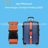Correa del equipaje con el pesaje de la hebilla, correa modificada para requisitos particulares del acollador de la insignia